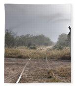 Crossing The Line Fleece Blanket