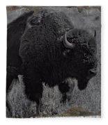 Crossing The Plains Fleece Blanket