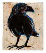 Crow Fleece Blanket