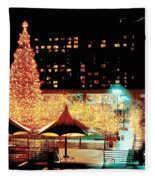 Crown Center Christmas - Kansas City-1 Fleece Blanket
