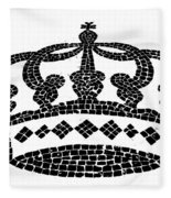 Crown Graphic Design Fleece Blanket