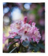 Crown Of Rhodies Fleece Blanket