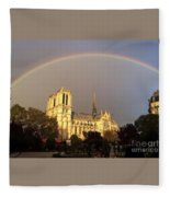 Crowning Glory Fleece Blanket