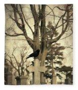 Crow's Cross Fleece Blanket