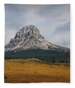 Crowsnest Mountain Fleece Blanket