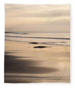 Croyde At Dusk Fleece Blanket