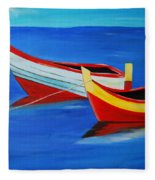 Cruising On A Bright Sunny Day Fleece Blanket