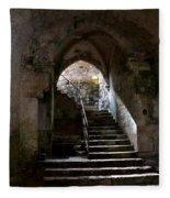 Crypt Of The Martyr San Marciano In Syracuse Fleece Blanket