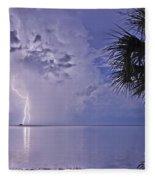 Crystal Beach 4 Fleece Blanket