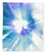 Crystal Blue Persuasion Fleece Blanket