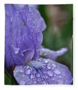 Crystal Blue Fleece Blanket