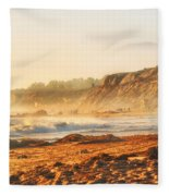 Crystal Cove At Sunset 1 Fleece Blanket