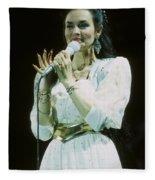 Crystal Gayle Fleece Blanket