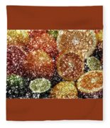 Crystal Grapefruit Fleece Blanket