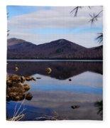 Crystal Lake Fleece Blanket