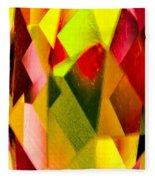 Crystal Lights Fleece Blanket