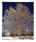 Crystal Tree Fleece Blanket