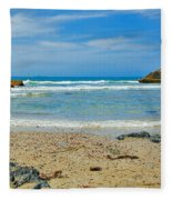Crystal Waters - Port Macquarie Beach Fleece Blanket