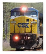 Csx 7363 Fleece Blanket