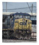Csx 7745 Engine 01 Fleece Blanket