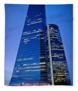 Cuatro Torres Business Area Fleece Blanket