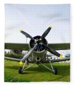 Polikarpov Po-2 Fleece Blanket