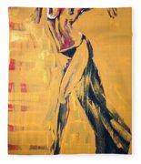 Cuba Rhythm Fleece Blanket