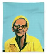 Cuban Portrait #13, 1996 Fleece Blanket