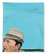 Cuban Portrait #8, 1996 Fleece Blanket