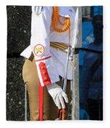 Cuban Soldier 1 Fleece Blanket