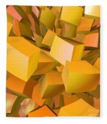 Cubist Melon Burst By Jammer Fleece Blanket