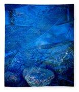 Cubistic Nature Fleece Blanket