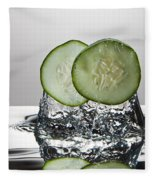 Cucumber Freshsplash Fleece Blanket