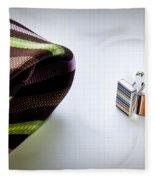Cuff Links Fleece Blanket