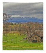 Culloden Moor And Old Leanarch Fleece Blanket