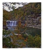 Cumberland Falls E Fleece Blanket