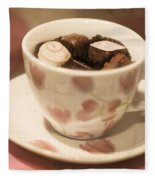 Cup Of Chocolate Fleece Blanket