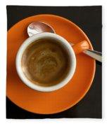 Cup Of Coffee Fleece Blanket