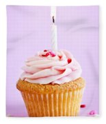 Cupcake Fleece Blanket