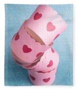 Cupcake Love Fleece Blanket