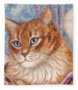 Cupid Kitty Fleece Blanket