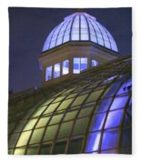 Cupola At Night Fleece Blanket