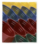 Cups7 Fleece Blanket