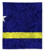 Curacao Flag Fleece Blanket