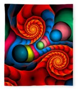 Curbisme-103 Fleece Blanket