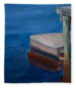 Currituck Dock Fleece Blanket