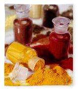 Curry Powder Fleece Blanket