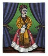 Curtains For Frida Fleece Blanket