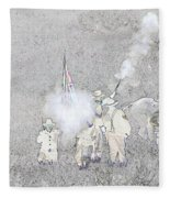 Custers Last Stand Fleece Blanket