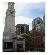 Custom House - Boston Fleece Blanket